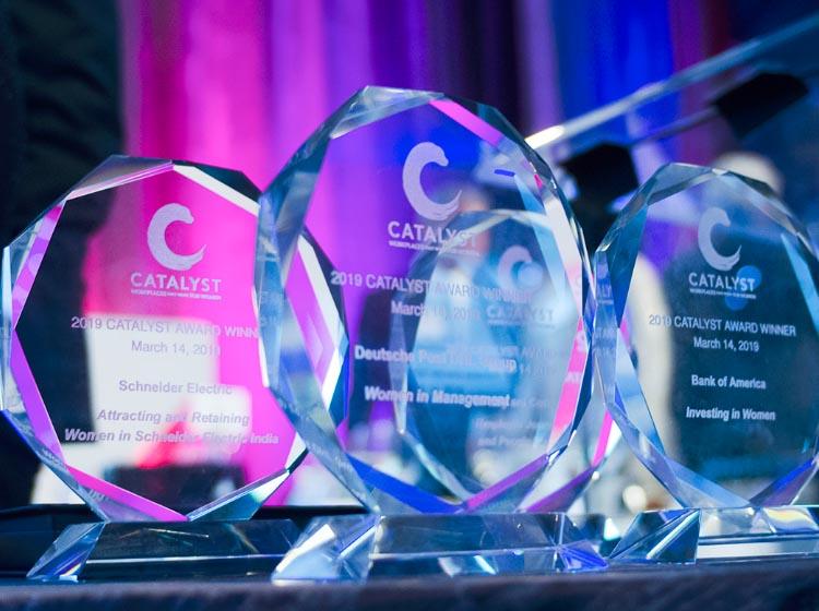 2020 Catalyst Award Winners: Deloitte, Medtronic and Unilever Honored for Inspiring Change, Accelera...