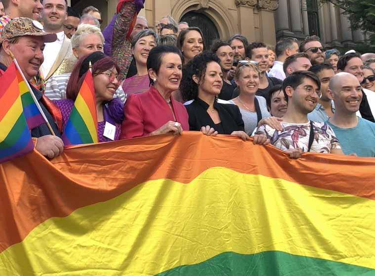 Sydney's rainbow flag celebrates 40 years of pride