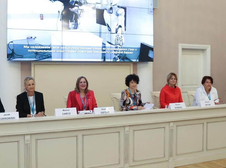 """""""Women's economic inclusion is absolutely crucial"""" – UNIDO at Second Eurasian Women's Forum..."""