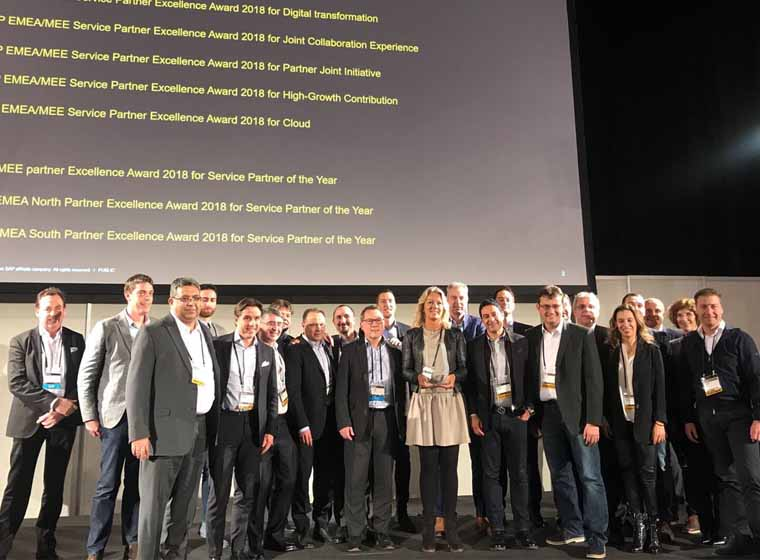 EY receives SAP® EMEA/MEE and Latin America/Caribbean Partner Excellence Awards 2018