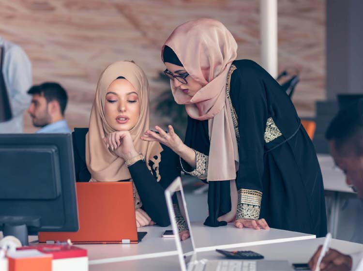 Supporting working women in the Middle East
